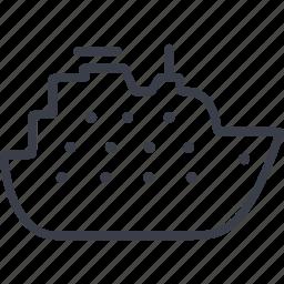 marine, sea, ship, shipping icon