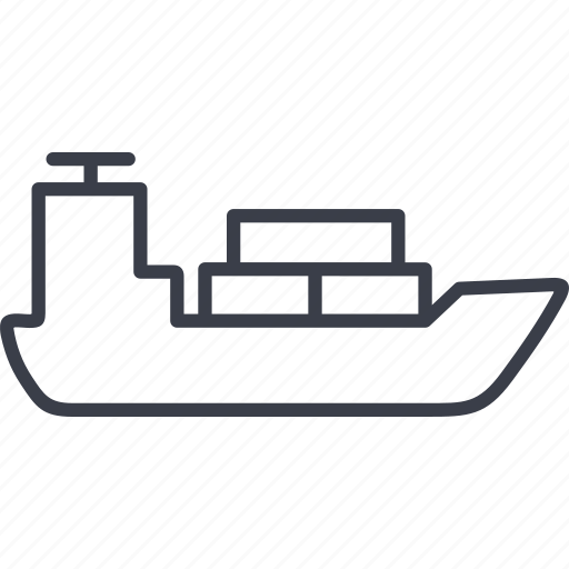 boat, ocean, sea, ship icon