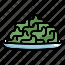 cooking, food, meal, seafood, seaweed