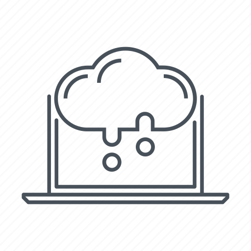 cloud, cloud computing, computer, data, download, file, synchronization icon