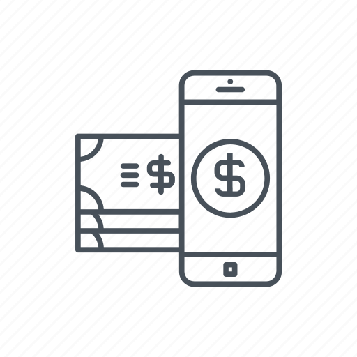 business, dollar, dollars, mobile phone, money, phone, tool icon