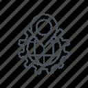 earth grid, gear, global, globe grid, placeholder, search, world grid icon