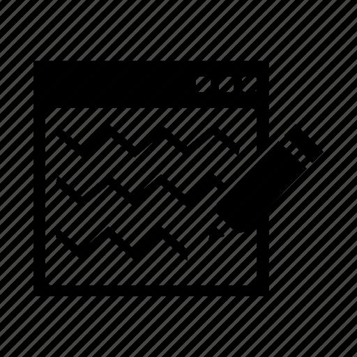 edit, interface, pencil, seo, write icon