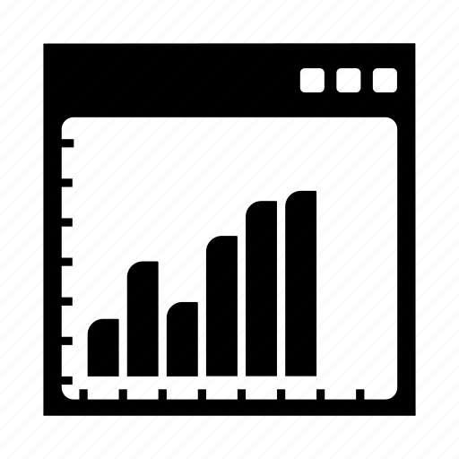 bars, downs, graph, seo, ups icon