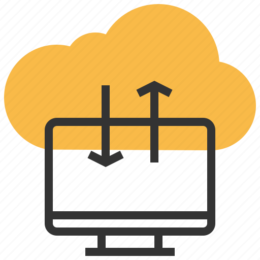cloud, computing, database, information, network, server, storage icon