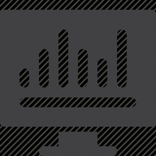analytics, bar, graph, seo icon