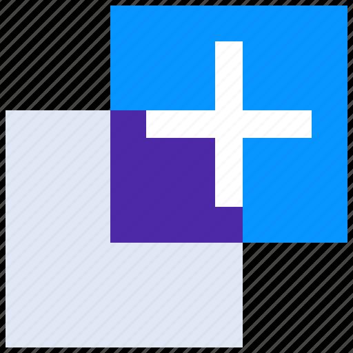 add, copy, design, layer, layers icon