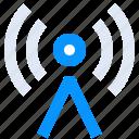 antenna, hotspot, network, radio, signal