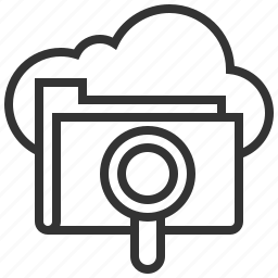 business, cloud, engine, file, optimization, search, seo icon