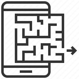 business, engine, maze, optimization, search, seo, solution icon