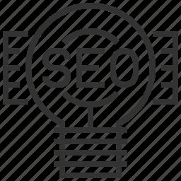 business, concept, engine, idea, optimization, search, seo icon