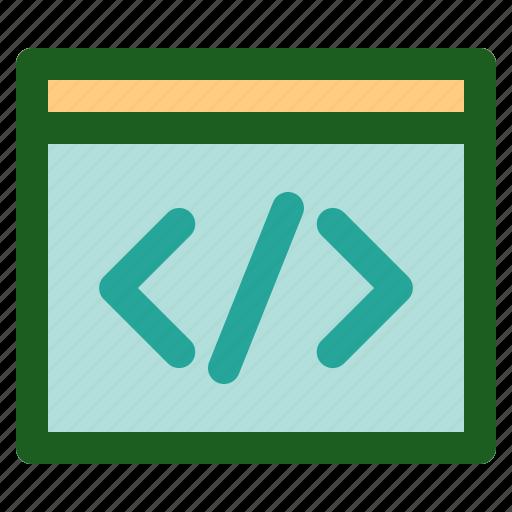 coding, custom, marketing, networking, online icon