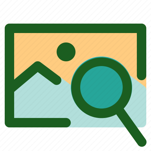 Marketing, image, networking, search, online icon
