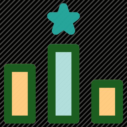 Marketing, online, networking, ranking icon