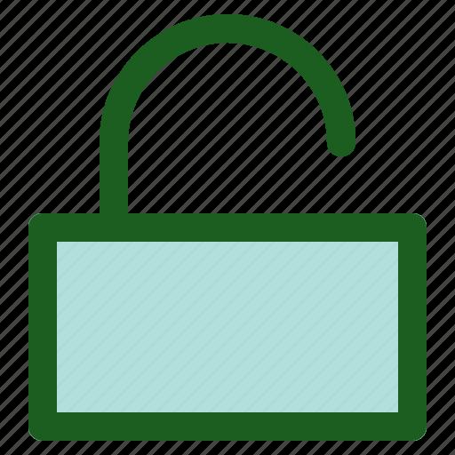 Marketing, online, networking, unlocked icon