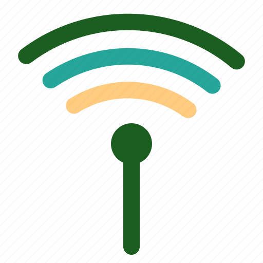 Wireless, marketing, connection, networking, online icon