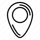 geo, label, location, mark, seo icon