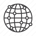 connection, global, globe, network