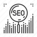 engine, optimization, search, seo icon