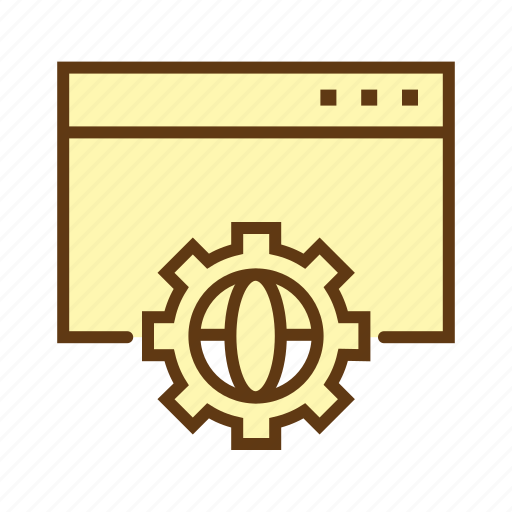 options, seo, settings, web design, web development, website optimization, website services icon
