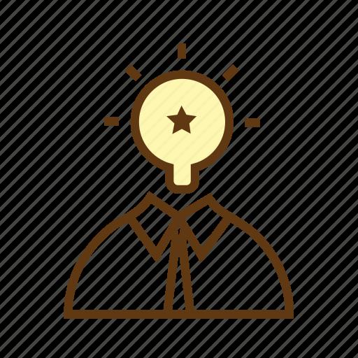creative idea, innovation, marketing idea, research, seo, smart solutions, thought icon
