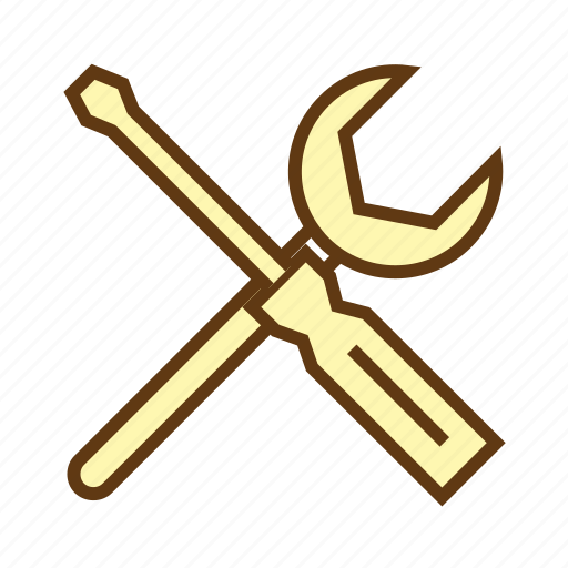 options, preferences, services, settings, technical support, tools icon