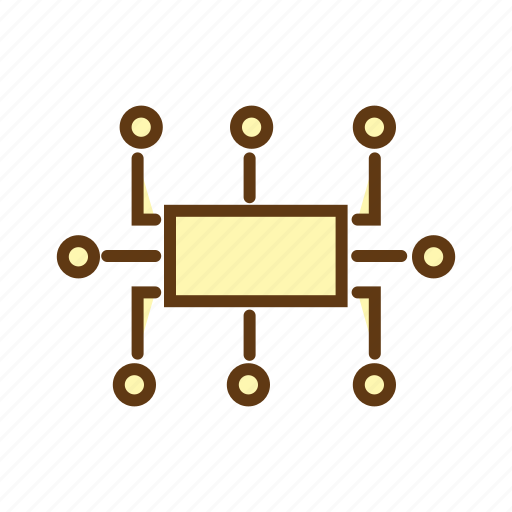 circuit, planning, program algorithm, seo, work flow icon