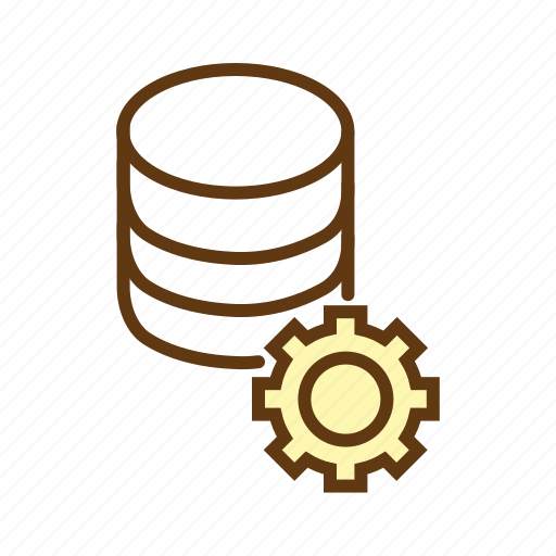 data management, database optimization, database server, database settings, search engine database, seo icon