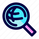 exploration, find, global, search, web, world icon