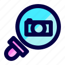 camera, exploration, find, image, photography, search icon