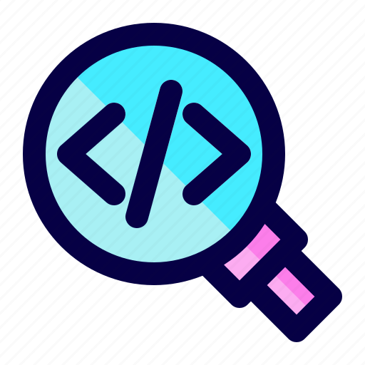 bug, code, find, program, search, software icon