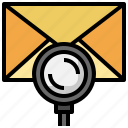 email, search, mail, communications, envelope, message