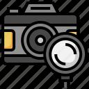 photo, camera, picture, search, loupe