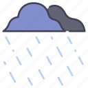 drop, nature, rain, rainy, season, weather, wet icon