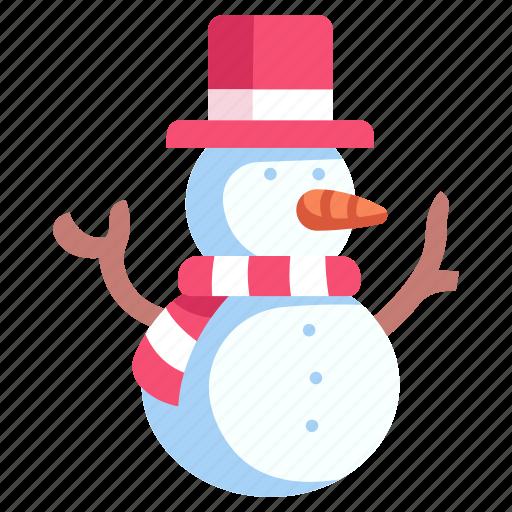 Christmas, decoration, hat, season, snow, snowman, winter icon - Download on Iconfinder