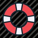 boat, help, lifeboat, lifebuoy, sea, ship, water