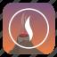 danger, fire, nature, smoke, volcano icon