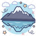 hill station, hills, hilly area, mountain landscape, mountain range, mountains, sunny mountains icon