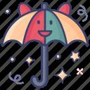 bumbershoot, insurance, parasol, sunshade, umbrella icon