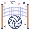 football, sports accessory, ball, volleyball, sports equipment icon
