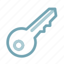 key, lock, password, protection, safe, secure, security icon