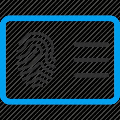 account, biometric identification, biometry, finger print, fingerprint, touch, trace icon
