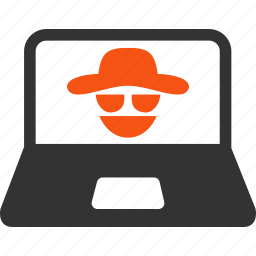 criminal, cyber crime, government, hacker, legal, safety, security icon