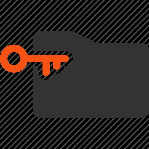 access key folder login open directory password safety