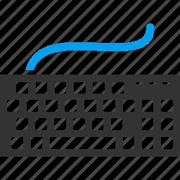 computer keyboard, device, equipment, hardware, input, key, keys icon