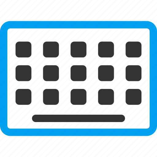 device, equipment, hardware, input, keyboard, keypad, keys icon