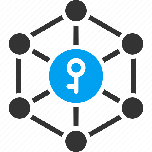 access, asymmetric cryptography, open key, password, public key, secret, security icon