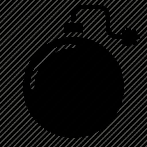 bomb, detonation, explosive, security, terrorism, weapons icon