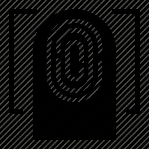 Fingerprint, scan, scanning icon - Download on Iconfinder