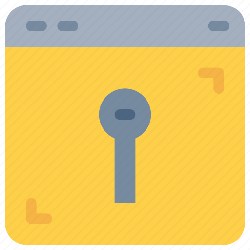 internet, onlines, padlock, secure, security icon